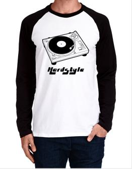 Retro Hardstyle - Music Long-sleeve Raglan T-Shirt