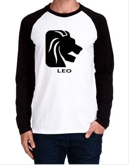 Leo Astral Silhouette Long-sleeve Raglan T-Shirt