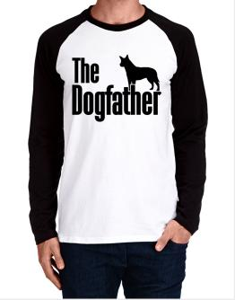 The dogfather Australian Cattle Dog Long-sleeve Raglan T-Shirt