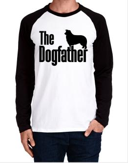 The dogfather Border Collie Long-sleeve Raglan T-Shirt