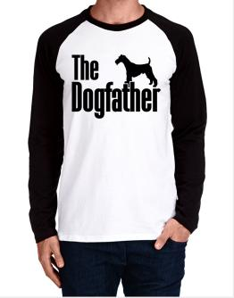 The dogfather Fox Terrier Wire Long-sleeve Raglan T-Shirt
