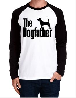 The dogfather North Country Beagle Long-sleeve Raglan T-Shirt