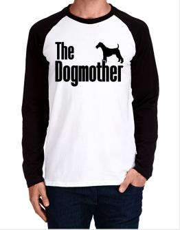 The dogmother Fox Terrier Wire Long-sleeve Raglan T-Shirt