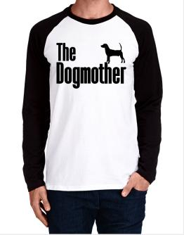 The dogmother North Country Beagle Long-sleeve Raglan T-Shirt