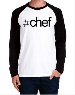 Hashtag Chef Long-sleeve Raglan T-Shirt