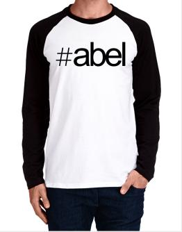 Hashtag Abel Long-sleeve Raglan T-Shirt