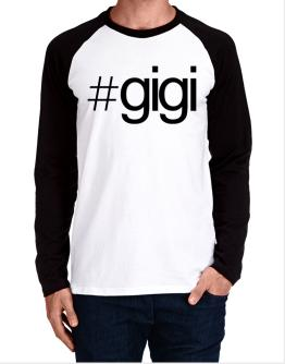 Hashtag Gigi Long-sleeve Raglan T-Shirt