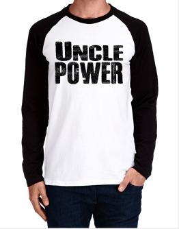 Auncle power Long-sleeve Raglan T-Shirt