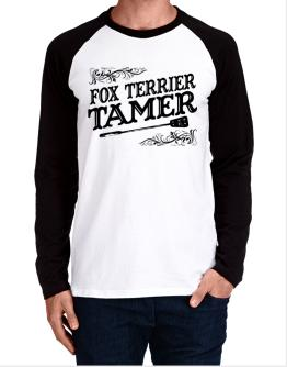 Fox Terrier tamer Long-sleeve Raglan T-Shirt