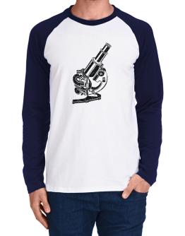 Microscope Long-sleeve Raglan T-Shirt