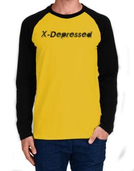 X-depressed Long-sleeve Raglan T-Shirt