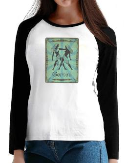 Gemini T-Shirt - Raglan Long Sleeve-Womens