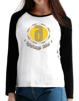 Aubrianna Rules T-Shirt - Raglan Long Sleeve-Womens