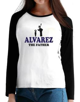 Alvarez The Father T-Shirt - Raglan Long Sleeve-Womens