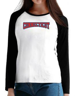 Classic Connecticut T-Shirt - Raglan Long Sleeve-Womens