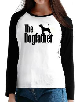 The dogfather Beagle T-Shirt - Raglan Long Sleeve-Womens