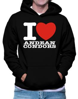I Love Andean Condors Hoodie