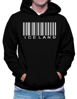 Iceland Barcode Hoodie