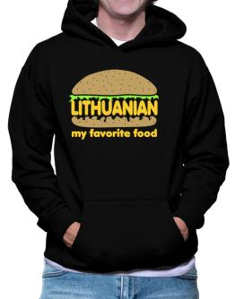 Lithuanian My Favorite Food Hoodie
