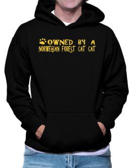 Owned By A Norwegian Forest Cat Hoodie