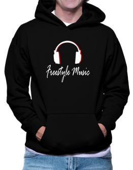 Freestyle Music - Headphones Hoodie