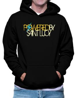 Powered By Saint Lucy Hoodie