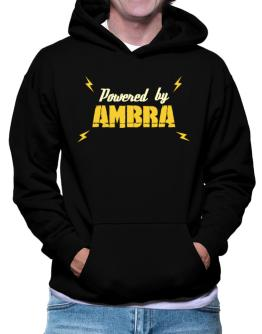 Powered By Ambra Hoodie