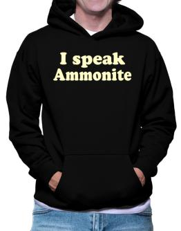 I Speak Ammonite Hoodie