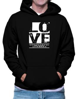 """ LOVE Industrial Plant Cleaner "" Hoodie"