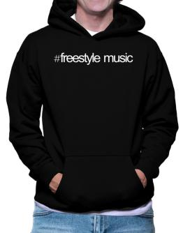 Hashtag Freestyle Music Hoodie