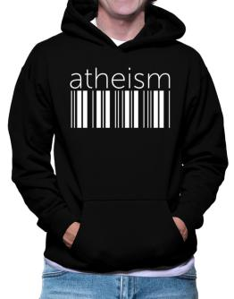 Atheism barcode Hoodie