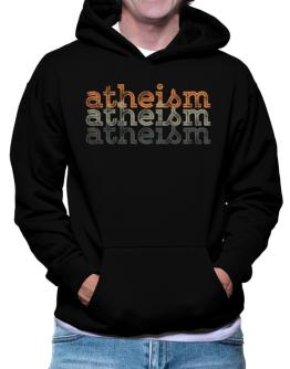 Atheism repeat retro Hoodie