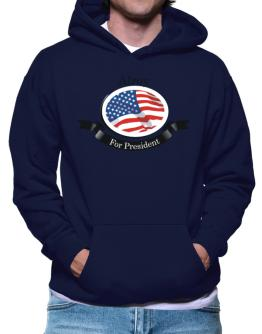 Alroy For President Hoodie