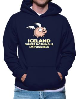 Iceland Where Nothing Is Impossible Hoodie
