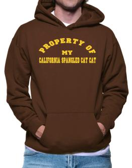 Property Of My California Spangled Cat Hoodie