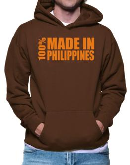 100% Made In Philippines Hoodie
