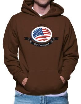 """"""" Lucy for President """" Hoodie"""