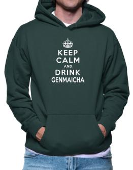Keep calm and drink Genmaicha Hoodie