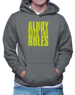 Alroy Sets The Rules Hoodie