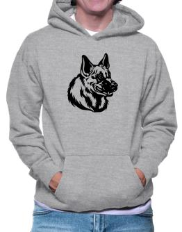 """ Belgian Malinois FACE SPECIAL GRAPHIC "" Hoodie"