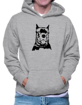 Cane Corso Face Special Graphic Hoodie