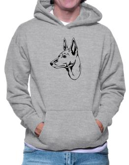 """ Peruvian Hairless Dog FACE SPECIAL GRAPHIC "" Hoodie"