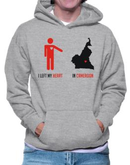 I Left My Heart In Cameroon - Map Hoodie