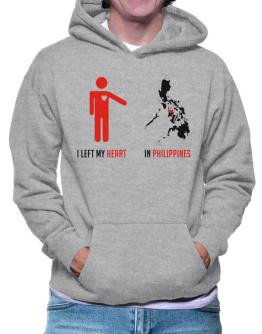 I Left My Heart In Philippines - Map Hoodie
