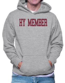 Hy Member - Simple Athletic Hoodie