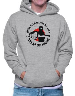Abecedarian By Day, Ninja By Night Hoodie