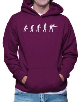 Evolution of a pool player Hoodie