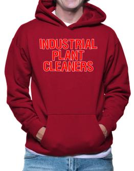 Industrial Plant Cleaners Embroidery Hoodie