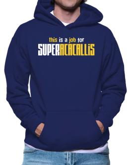 This Is A Job For Superacacallis Hoodie