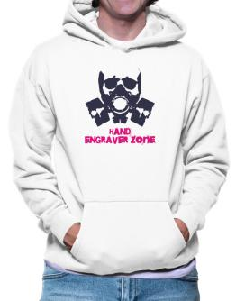 Hand Engraver Zone - Gas Mask Hoodie